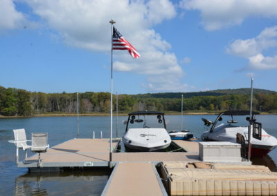 Custom Deep Creek Docks
